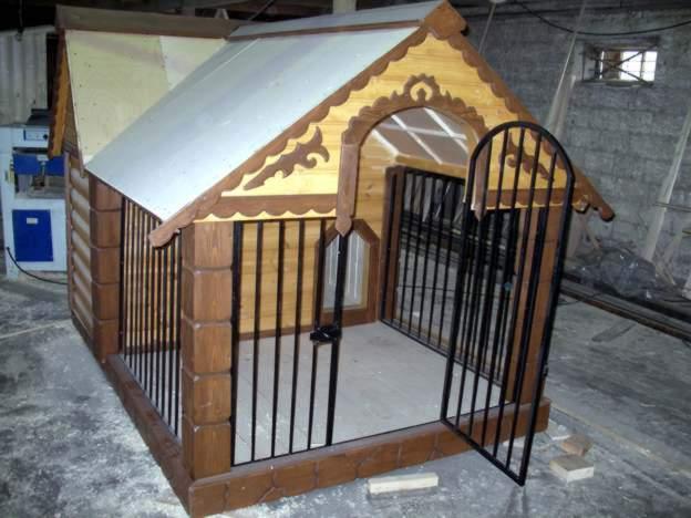 Доступ в жилую зону собаки - с